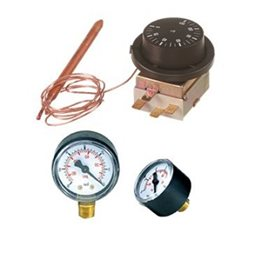 Thermostats & pressure gauges