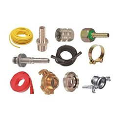 Hoses, clamps and couplings